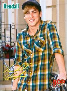 KENDALL SCHMIDT   BIG TIME RUSH   PINUP   CLIPPING