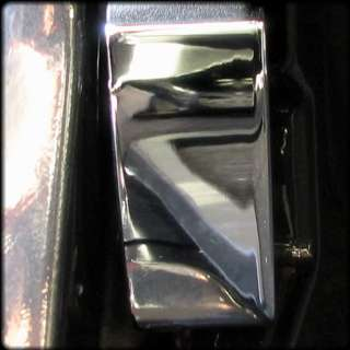 Hummer H2 Chrome Billet Aluminum Hood Release Cover