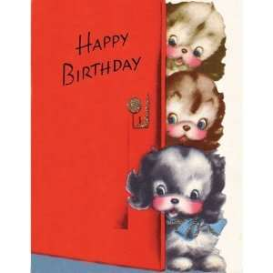 VINTAGE LOOK BIRTHDAY CARDS   BOY, GIRL OR ADULT   BOXED SET OF 14 W