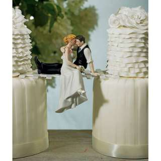 Wedding Cake Topper Look of Love Bride and Groom Toppers