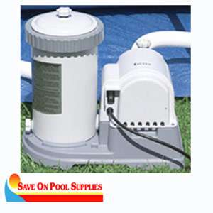 Intex Krystal Clear 1500 GPH Easy Set Swimming Pool Pump Filter 56635