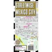 Streetwise Mexico City Map   Laminated City Street Map of Mexico City