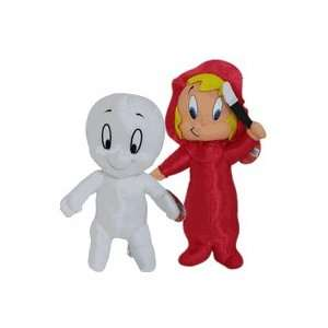 Harvey Cartoon   14in Casper & Wendy Plush set Doll Toys & Games