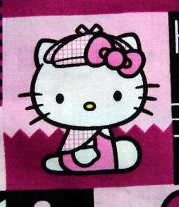Hello Kitty Detective Nurse Medical Scrub Top Uniform