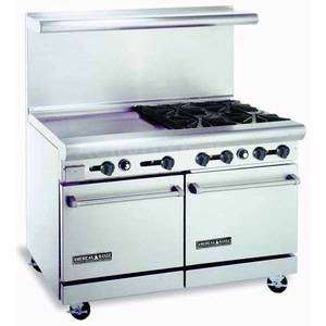 range w 24in raised griddle 20in wide double ovens more american range