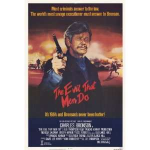 The Evil That Men Do (1984) 27 x 40 Movie Poster Style A