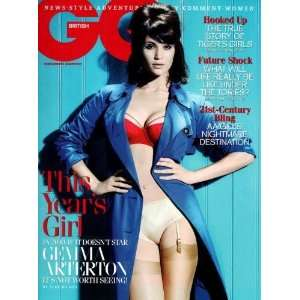 Gemma Arterton Poster #01 Gq Magazine Cover 27x36 Home