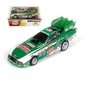 John Force Castrol Gtx Nhra 164 Slot Car Mustang Funny