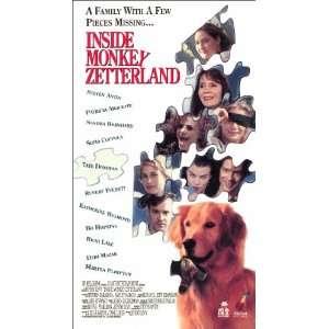 Inside Monkey Zetterland [VHS] Steve Antin, Katherine Helmond