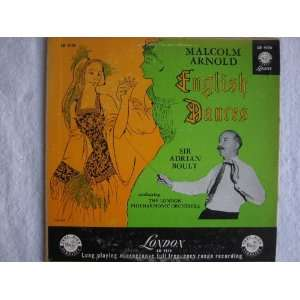 English Dances   Malcolm Arnold 10 vinyl LP: Sir Adrian