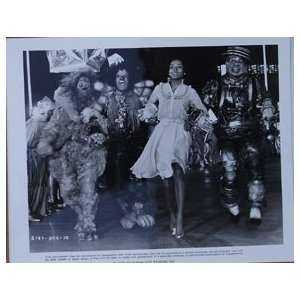 Michael Jackson, Diana Ross, Nipsey Russell, & Ted Ross The Wiz 8x10