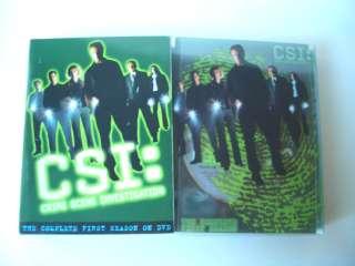 CSI Crime Scene Investigation The Complete First Season DVD 6 Disc Set