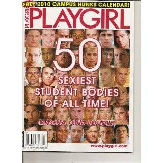 Playgirl Magazine (Campus Hunks, 2010) Single Issue Magazine by