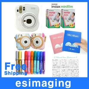 New Polaroid instant camera for Fuji instax mini 25 set 4547410096828