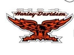 Harley Davidson Motorcycles Eagle Logo Decal Sticker