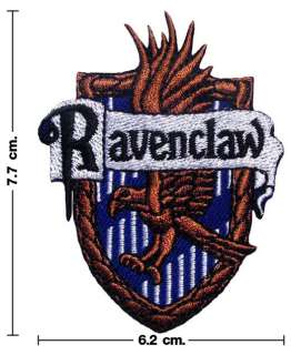 Harry Potter House RAVENCLAW Crest Emblem Embroidery Stick Iron On