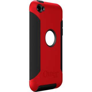 Red Black Commuter OtterBox Cover Case for Apple Ipod Touch 4