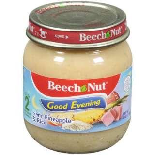Beech Nut Good Evening Ham Pineapple & Rice Stage 2 Baby