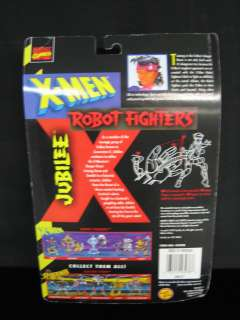 MEN JUBILEE ACTION FIGURE ROBOT FIGHTERS BY TOY BIZ 1997