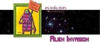 ALIEN INVASION Moda JELLY ROLL Amy Bradley Fabric Rolls