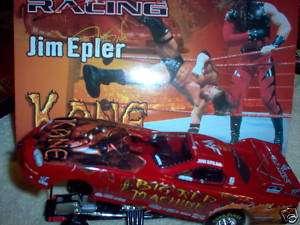 JIM EPLER 1/24 2000 WWF / KANE CAMARO FUNNY CAR