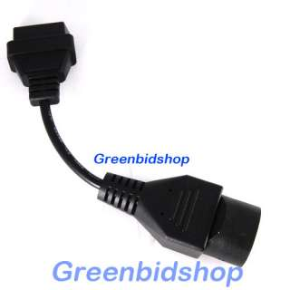 Mazda 17 Pin Cable OBD II OBD2 Diagnostic Adapter Cable OBD015
