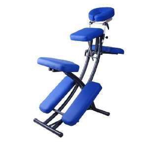 Blue 2 Portable Folding Massage Chair Tattoo Spa w