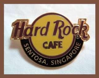 Hard Rock Cafe SENTOSA SINGAPORE Classic Logo Pin