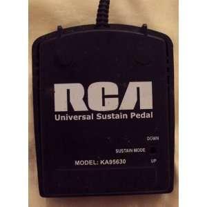 RCA Universal Sustain Pedal (KA95630) Electronics