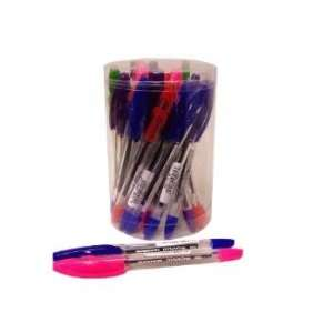 PaperMate Assorted Color Dynagrip Stick Pens (Case of 24