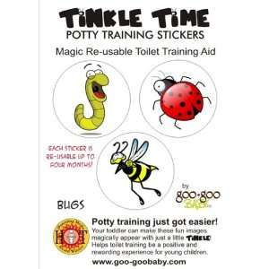 Reusable Potty Training Stickers   Potty Train in a day! Bug Theme