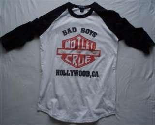 Motley Crue t shirt vtg nikki sixx van halen ac/dc bon jovi ratt style