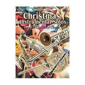 Instrumental Solos   Alto Saxophone (Book & CD) Musical Instruments