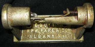 Toilet/Tissue Paper Holder THE EQUITY APW CO. #278 11