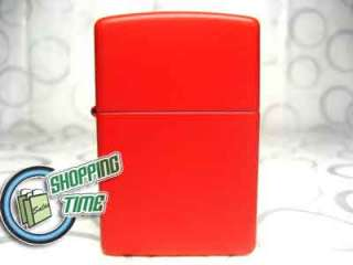 Zippo Red Matte fluid Lighter Flints Flint Wick Wicks