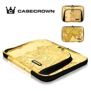 CaseCrown Double Memory Foam Pouch Case with Front Pocket