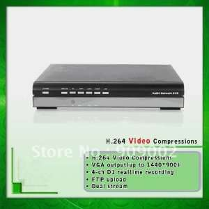 who 4 channel standalone dvr with h.264 compression