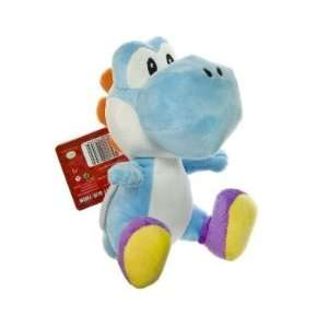 Nintendo Super Mario Bros. Wii Plush Toy   6 Blue Yoshi
