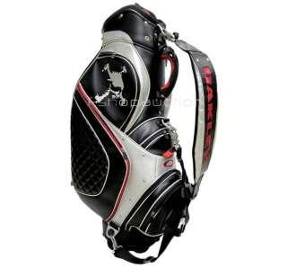 Pro Black Slate Golf Bag Case Mens Womens Collectors Rare New