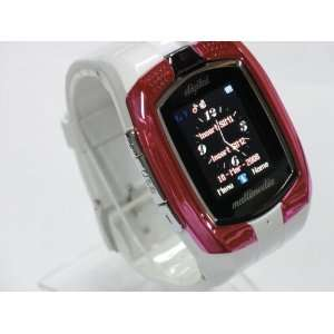 1.4 touch screen tri band watch phone with  , MP4