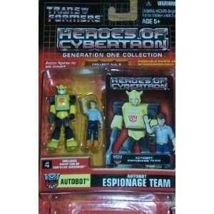 Transformers G1 Generation One 1 Autobot Espionage Team: Toys & Games